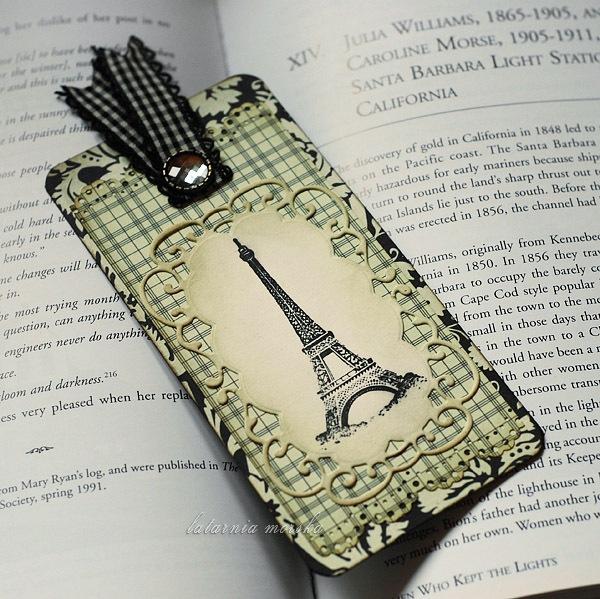 Paris bookmark