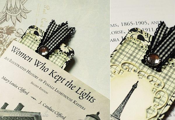 Paris bookmark close-ups