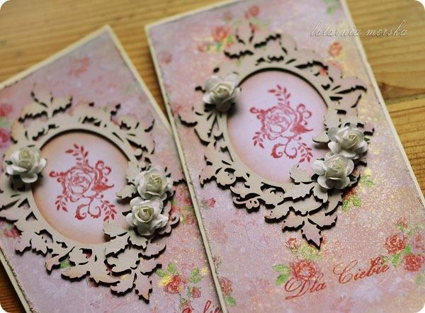 kartki z biala ramka detale