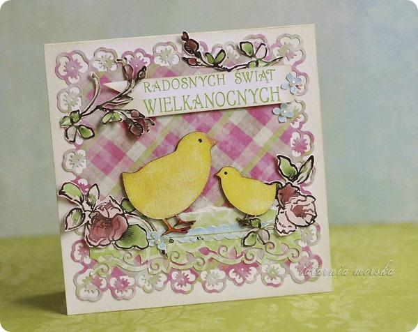 kartka z kurczaczkami