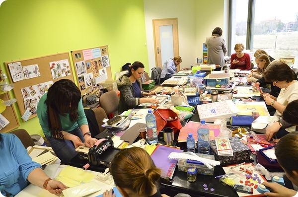 spotkanie scrapbookingowe w Bielsku-Białej 30. marca 2012