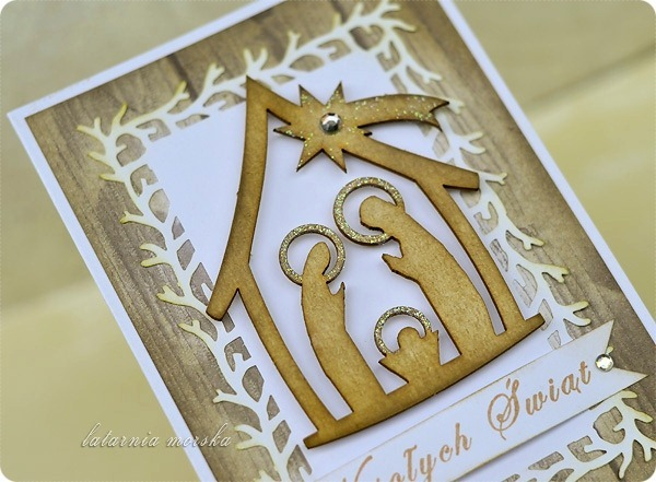 kartka z szopka betlejemska