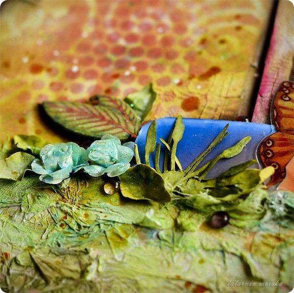 kolaż mixed-media Bajkowe Światy