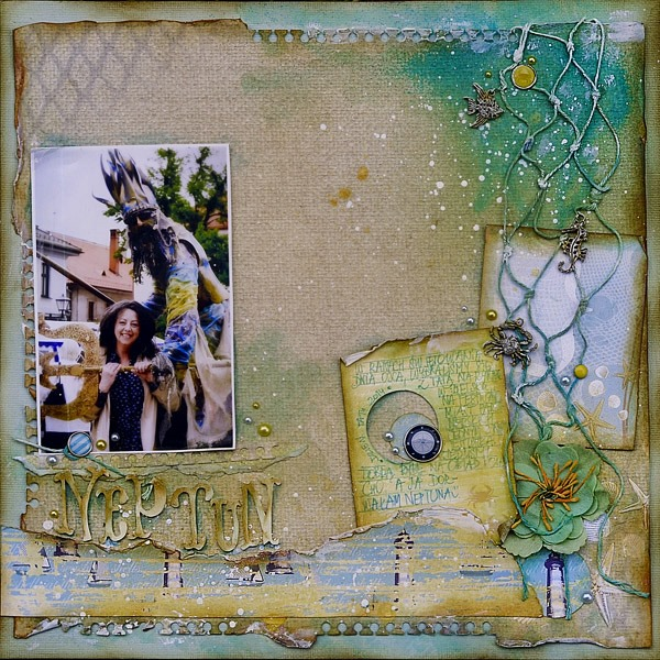 Neptun_scrapbooking_layout
