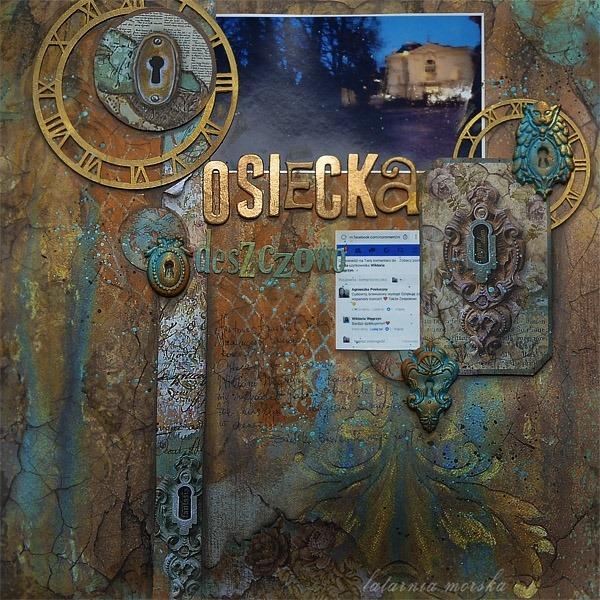Deszczowa_Osiecka_layout_scrapbooking_recznie_robiona