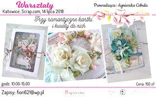 warsztaty - kwiaty z foamiranu i kartki