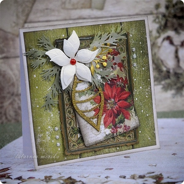 kartka_recznie_robiona_Boze_Narodzenie_2018_vintage_Christmas_2