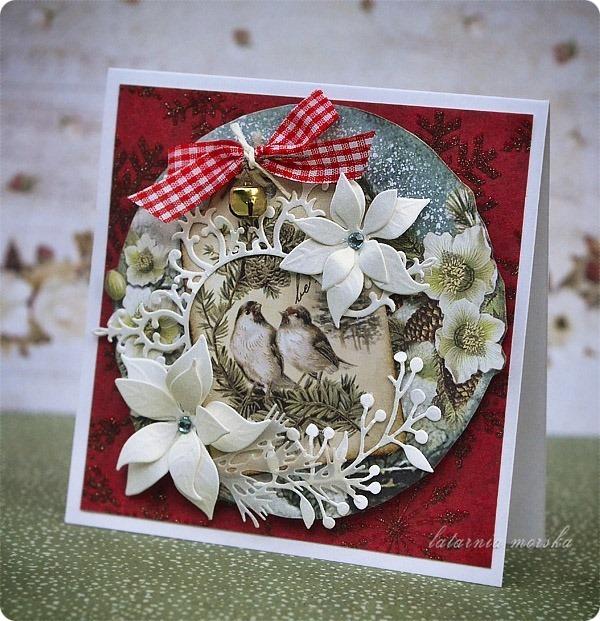 kartka_recznie_robiona_Boze_Narodzenie_2018_vintage_Christmas_4
