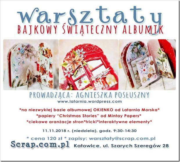 Swiateczny_Album_Scrapbooking_Warsztaty_Katowice
